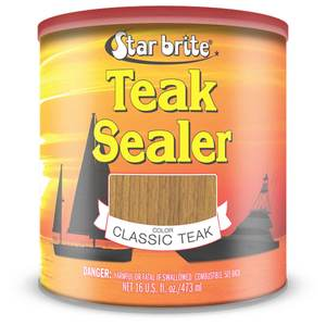 Tropical Teak Oil Sealer, Classic Teak, Quart