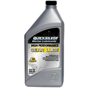 Quicksilver SAE 90 High Performance Gear Lube, Quart