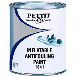 Inflatable Boat Antifouling Paint, Black, Quart (Not for Sale in California)
