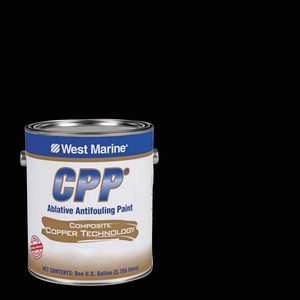 CPP Plus Antifouling Paint, Black, Gallon