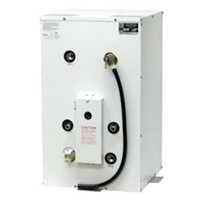 20 Gallon Vertical Water Heater with Stainless Steel Case and Front-Mount  Heat Exchanger, 120V