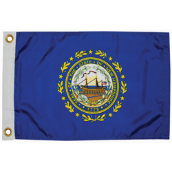 "New Hampshire State Flag, 12"" x 18"""