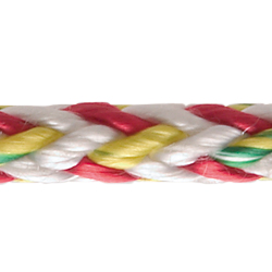 Dyneema Single Braid, Salsa Red, Sold by the Foot