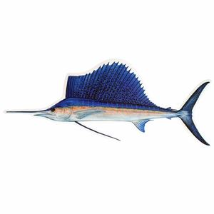 Sailfish Profile Fish Decal