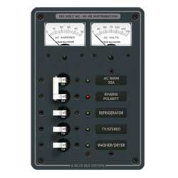 AC Electrical Distribution Panel, AC Main + 3 Positions