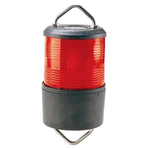Halyard Mount Red All-Round Navigation Light