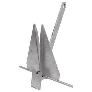 18lb. Penetrating Fluke Anchor, Solid Shank
