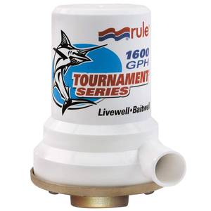 Tournament Series Bronze Base Livewell Pump