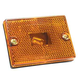 Sidemarker Trailer Light Reflector
