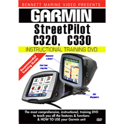 Garmin c320 & c330 StreetPilot Instructional Training DVD