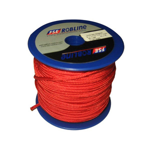 2mm Polyester Braid Mini-Spool, Red