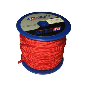 3mm Polyester Braid Mini-Spool, Red