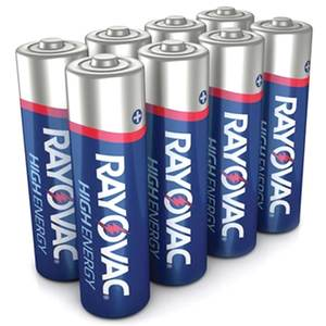 "Alkaline ""AA"" Batteries  8 Pack"