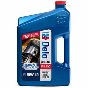 Delo 400 SDE Motor Oil, SAE 15W-40, 1 Gallon