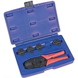 Multi-Die Ratcheting Crimper Kit