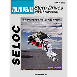 Repair Manual - Volvo/Penta Stern Drive, 1968-1991, All models