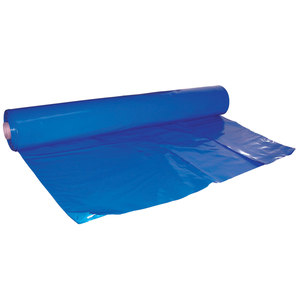 Shrink Wrap, 17' X 31', 6mil, Blue