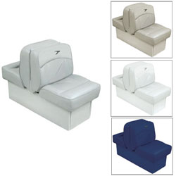 Deluxe Lounge Seat, White