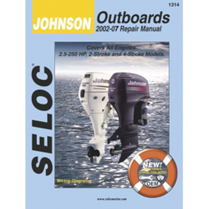 Repair Manual - Johnson Outboards 2002 - 2007