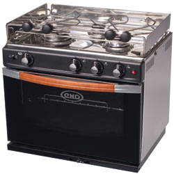 Gascogne Three-Burner Stove