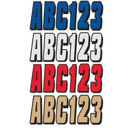 "3"" Factory Matched Number Kits, Series 320"