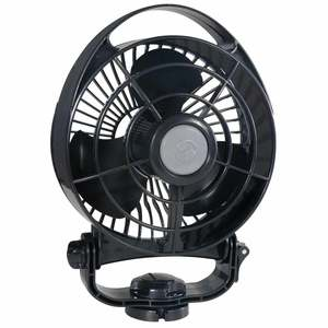 Bora 3-Speed 24V Fan, Black