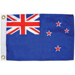 "New Zealand Courtesy Flag, 12"" x 18"""
