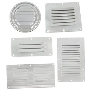 Stainless-Steel Louvered Vents