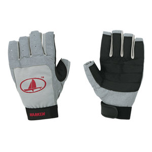Black Magic Short Finger Sailing Gloves