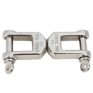 Stainless Steel Heavy-Duty Jaw & Jaw Swivels