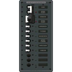 120V A-Series Source Selection Toggle Circuit Breaker Panels