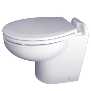 Marine Elegance™ Electric Marine Toilets, White