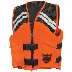 Mesh Series Industrial Lieutenant's Life Jackets