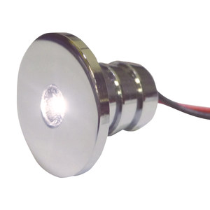 Chrome Plated Brass LED Accent Lights