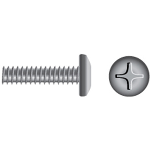 Stainless Steel Phillips Pan-Head Coarse Thread Machine Screws