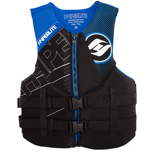 Men's Indy Water Sports Life Jacket, Blue/Black