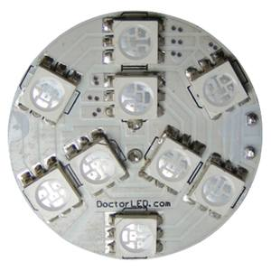 Blue G4 MR11 SMD LED Disk Bulbs