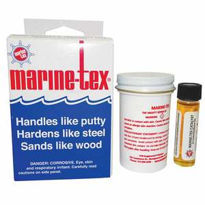 Marine-Tex® Epoxy Putty Repair Kit, Gray