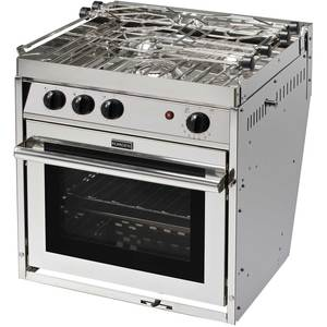 Three Burner Gourmet Galley Gimbaled Propane Ranges