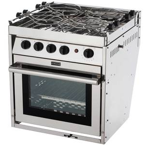 Four Burner Gourmet Galley Gimbaled Propane Ranges