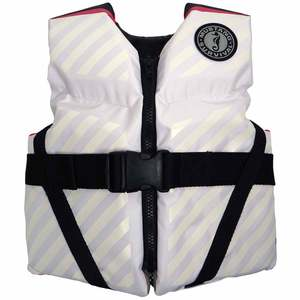 Lil' Legends 70 Kids' Life Vests, White/Pink