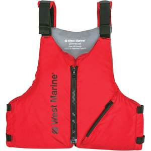 Universal Paddle Life Jackets, Red