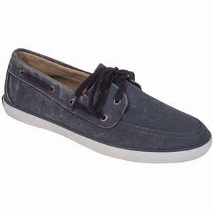 Men's Lighthouse Canvas Boat Shoes