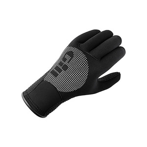 Neoprene Full Finger Dive Gloves. BLACK