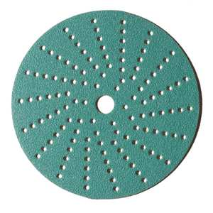 "6"" Multi-Hole Sandpaper Film Discs"