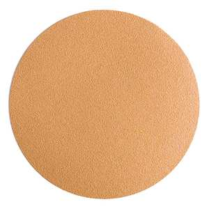 "6"" No-Hole Gold Sandpaper Discs"