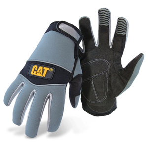 Utility Gloves, Neoprene-Padded Palms with Adjustable Wrists