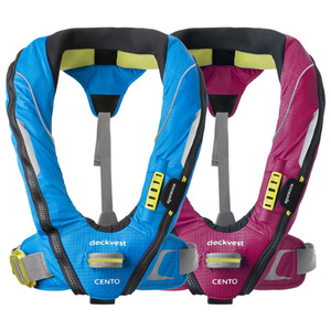 Deckvest Cento Junior Inflatable Life Jackets