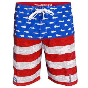 Men's SHARSKIN™ Americamo Board Shorts