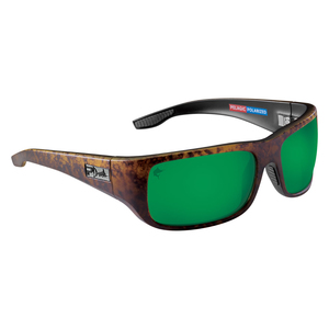 Fish Hook Polarized Plastic Sunglasses